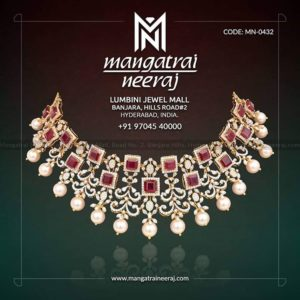 Rubies & Pearls from Ruby Jewellery Collection by MangatraiNeeraj